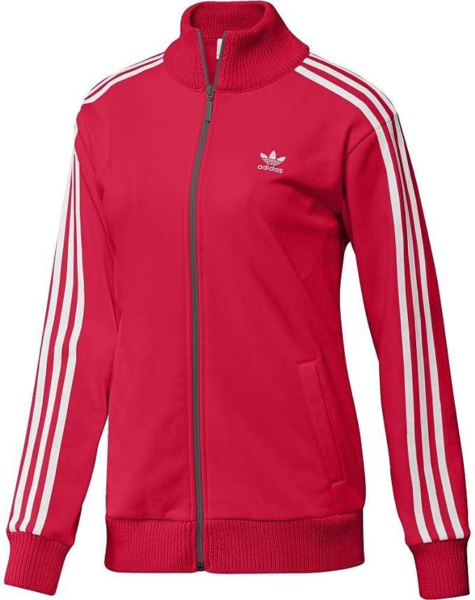 adidas Damen Tracktop Sweatshirt: : Bekleidung