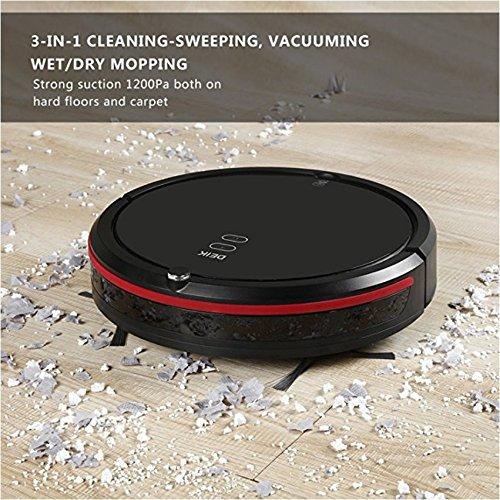 Deik Robotic Vacuum Cleaner