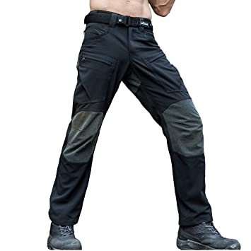 Free Soldier - Pantalones todoterreno para hombre, uso exterior, tejido Cordura y Kevlar,