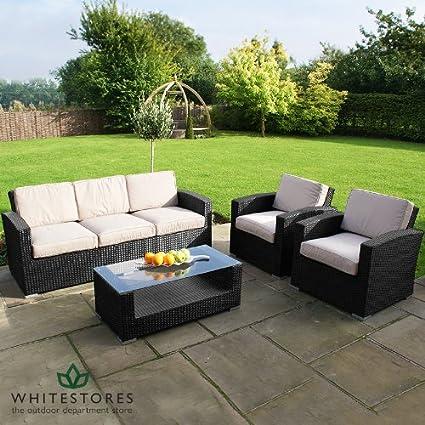 Amazon.com: Rattan Furniture - Deluxe Algarve Rattan Garden ...