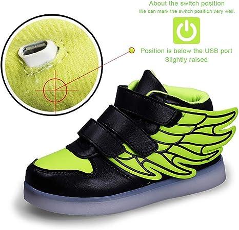 XIEZI USB Charge Chaussures De Sport avec Interrupteur