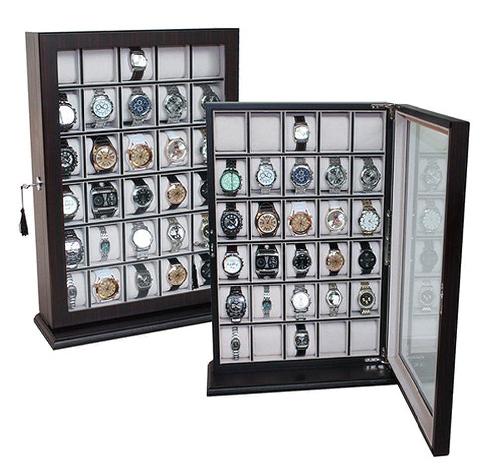 Von Uhren Woolux 30 Uhrenbox A Mit Aus 1 Holz Qualität Für fYgvbyI76