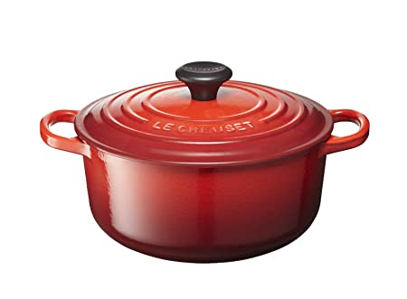 Le Creuset of America LS2501-2067 Enameled Dutch Oven, 2.75 qt, Cerise