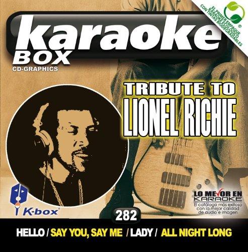 Lionel Richie Karaoke - KBO-282 Tribute To Lionel Richie(Karaoke)
