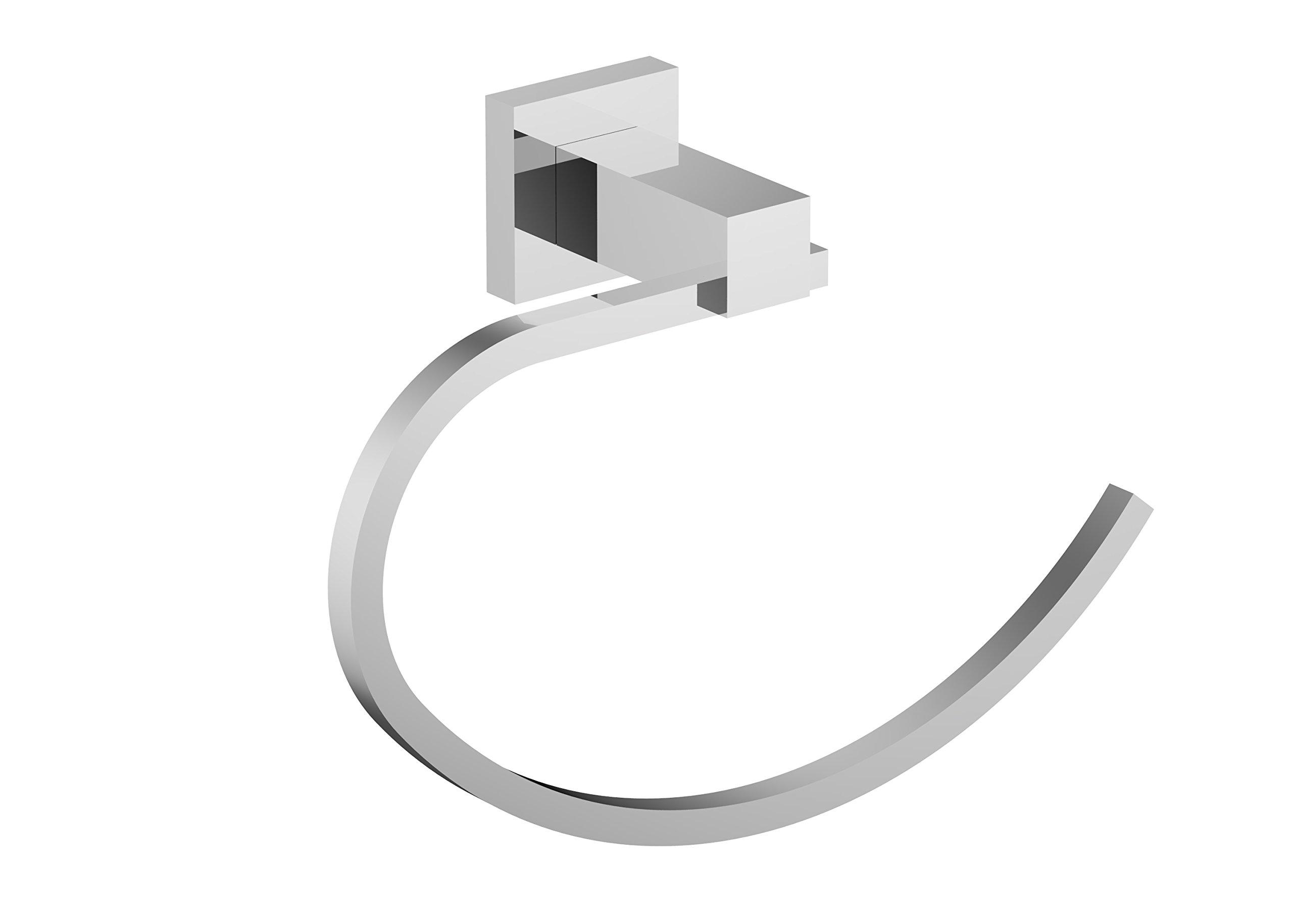 Eviva EVAC40CH Holde Towel Holder Bathroom Accessories Combination, Chrome