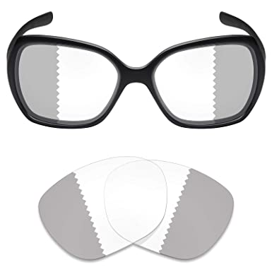 d0e1c0a5b44 Mryok UV400 Replacement Lenses for Oakley Overtime - Eclipse Grey  Photochromic