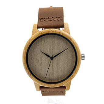 Amazon.com: Taonology Famosa marca alta calidad Retro de madera del Reloj hombres mujeres Reloj del cuarzo Casual Reloj de Hombre Montre Femme Reloj Hombre ...