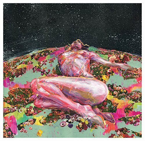 Nude Woman in a Meadow Art Poster Print - Wall - Wall Decor -