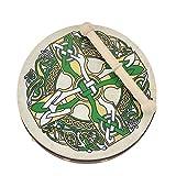 8'' Bodhran Irlandais Croix Gaélique