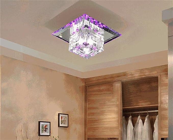 Plafoniere In Cristallo Miglior Prezzo : Atmosfera semplice led luce di cristallo faretti plafoniere luci