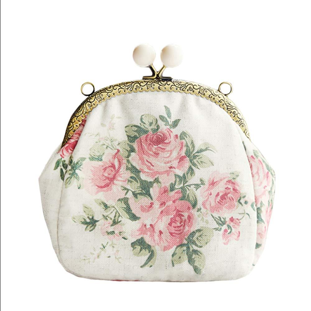 LZH Handtasche, Originelles Design Stickerei Spitze Umhängetasche Handgemachte Rosa Tasche Handy Damen Rucksack 22  17  10cm, 2 B07J32ZLPN Shopper Jahresendverkauf