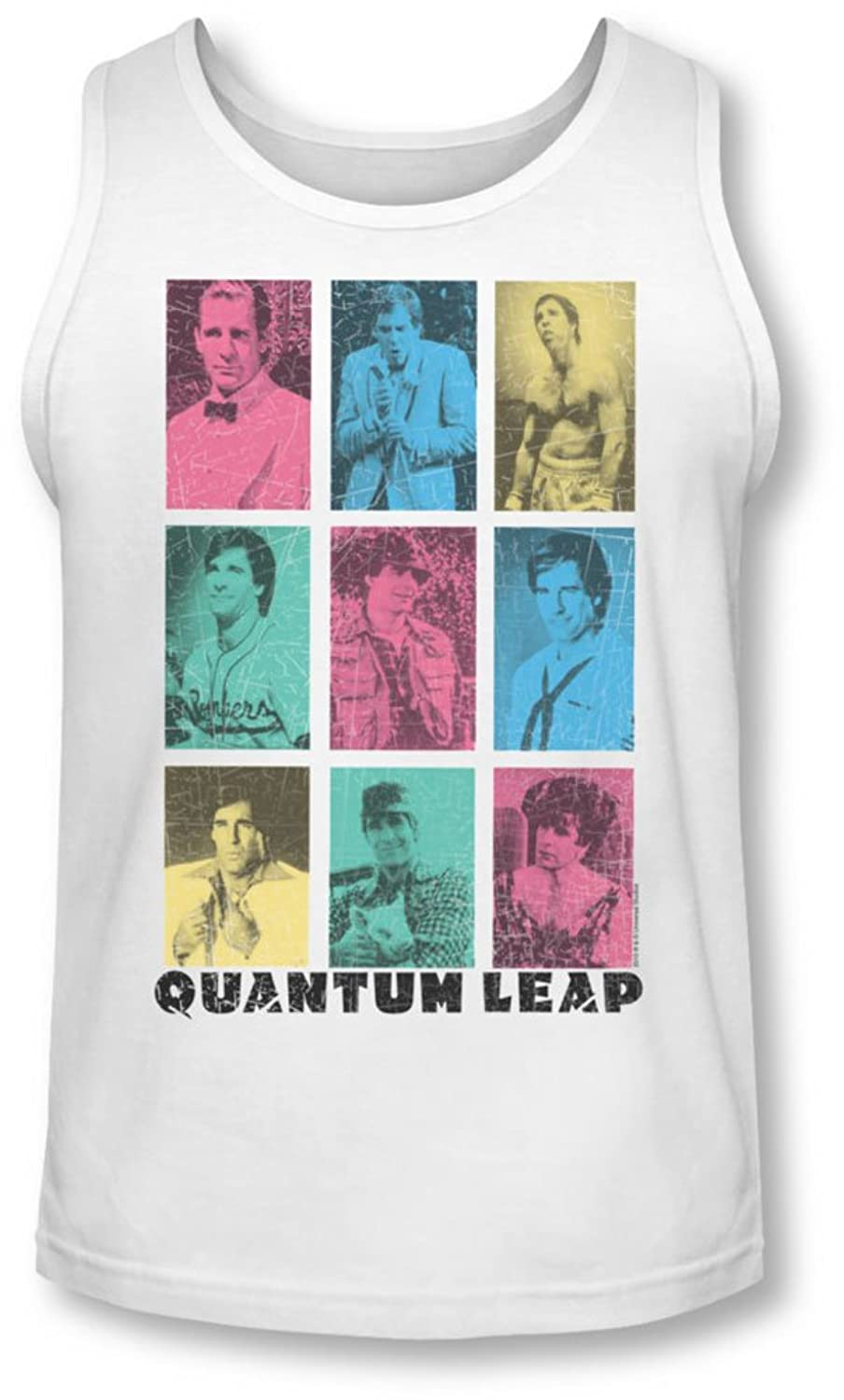 Quantum Leap - Mens Faces Of Sam Tank-Top
