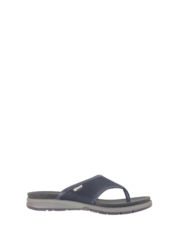 Igi&Co 1128 Chanclas Hombre 40 EU|Azul Zapatos de moda en línea Obtenga el mejor descuento de venta caliente-Descuento más grande