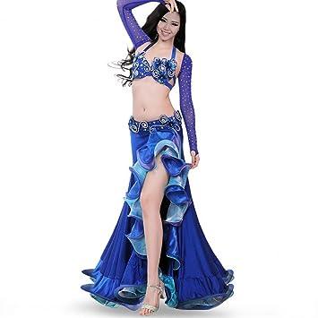 MoLiYanZi Más Color Traje de Danza del Vientre Set para ...