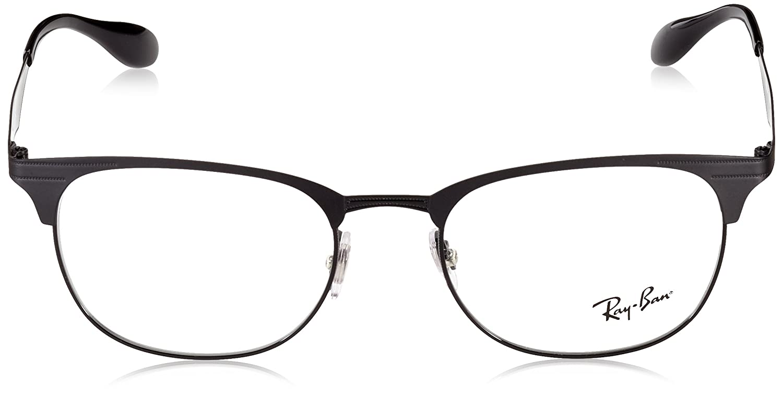 2dd5e296f0 Amazon.com  Ray-Ban 0rx6346 No Polarization Square Prescription Eyewear  Frame Matte Black