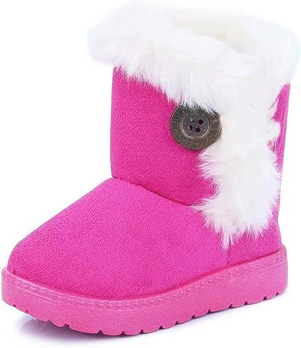 Gaatpot Meisjes Jongens Sneeuwlaarzen Baby Kids Winter Warm