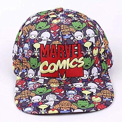 LQT Ltd Gorras de béisbol Comics Gorras Planas para Hombre o Mujer ...