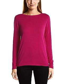 ESPRIT Damen Pullover 108EE1I029, Grün (Dark Teal Green 375