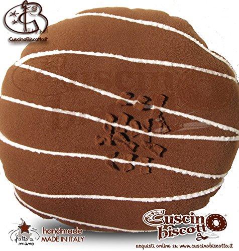 Cojín Galleta - rosquilla Cartera/Donuts marrone5 (hecho a ...