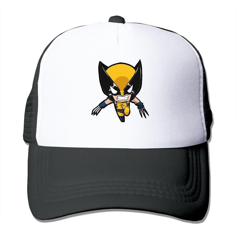 POPYol Unisex Wolverine Hero Adjustable Mesh Baseball Hats Caps