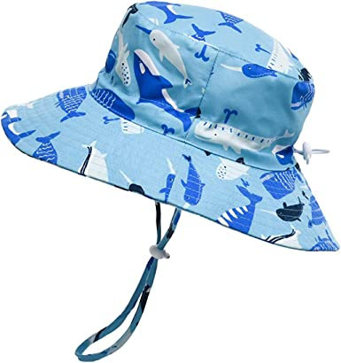 Baby Boys Girls Sun Hat Camouflage Hat Summer Sun Protection Fishermen Hat