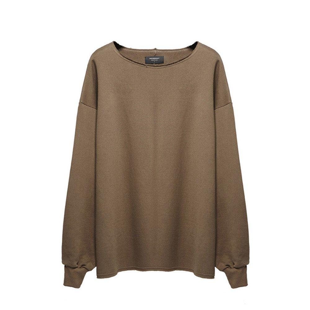 Lisux männer - Casual Mode Pullover  Herren Casual t - Shirt ärmel Kopf männer - Pulli,Kamel,m