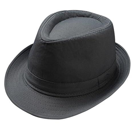 Skyeye Unisex Unisex Sombrero de Jazz Jacquard de Algodón Puro Sombrero de  Panamá Sombrero de Visor d82c1764d61