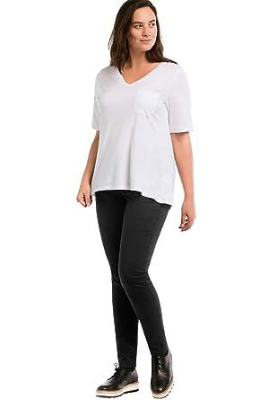 3ba49910905 Ellos Women s Plus Size Slim Stretch Twill Jeggings at Amazon Women s  Clothing store