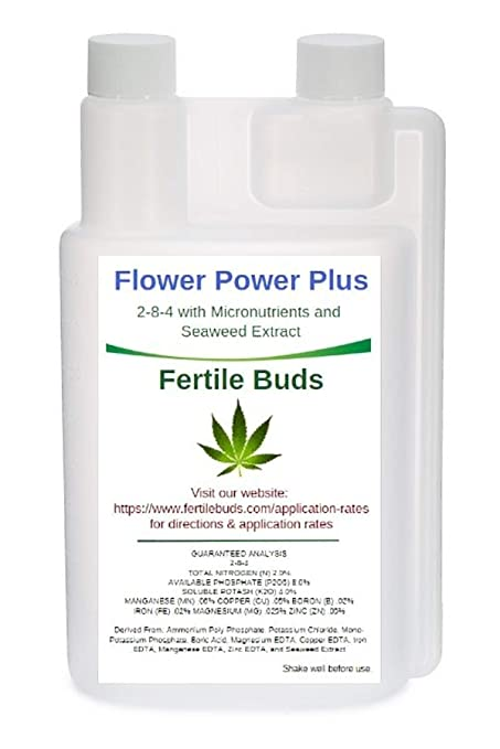 Amazon.com: Fertile Buds s Flower Power Plus 2-8-4 con ...