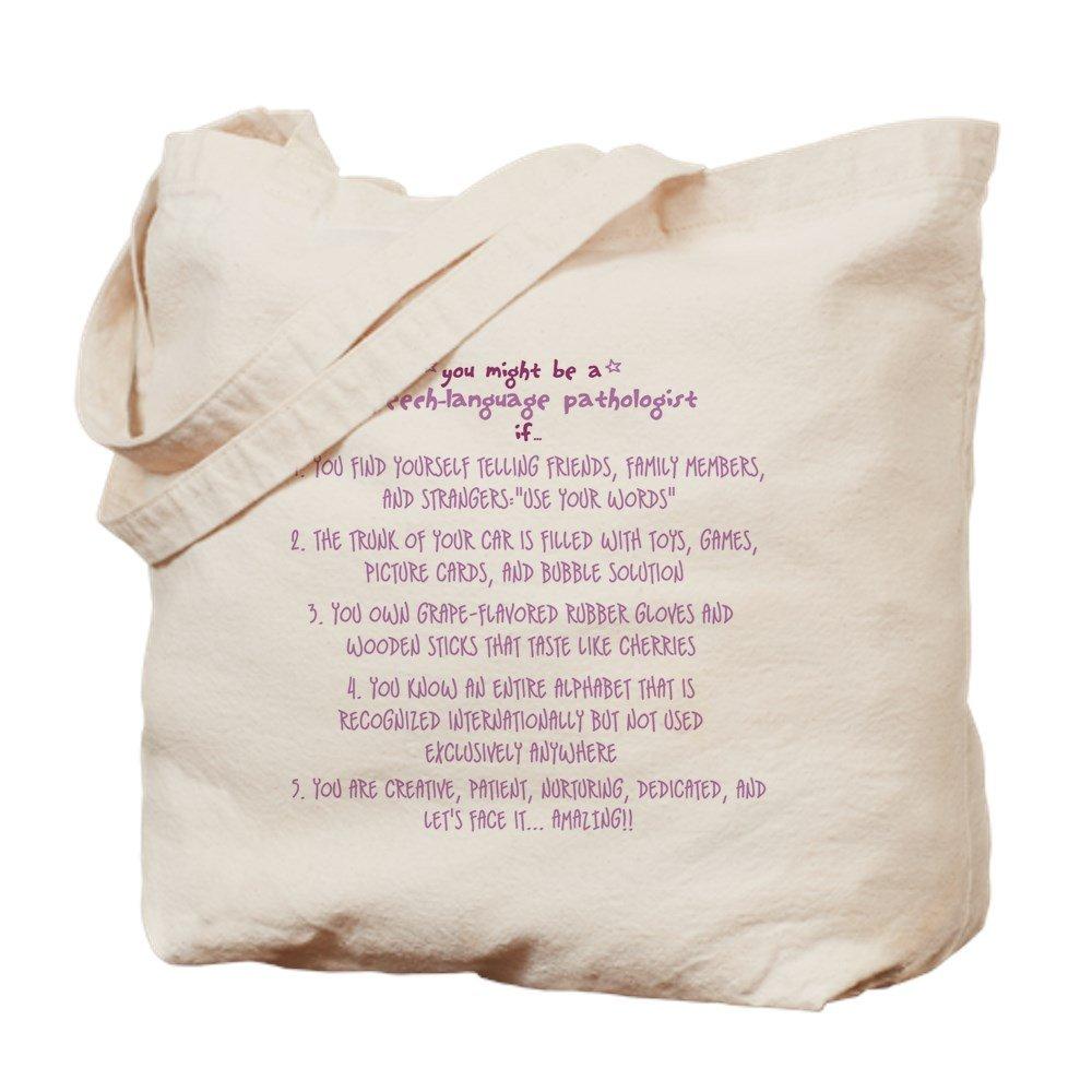 CafePress – You Might Be a speech Patholo – ナチュラルキャンバストートバッグ、布ショッピングバッグ B01JNC05LY