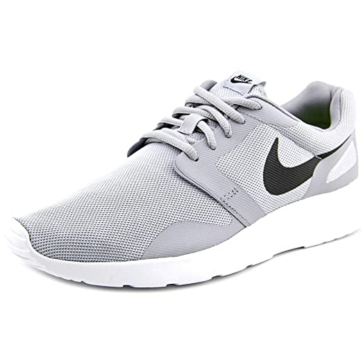 Nike Mens Kaishi Ns Wolf GreyBlackWhite Low Top Synthetic Running Shoe