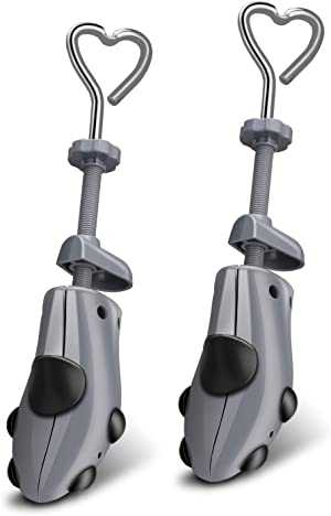 XYH Shoe Stretcher Comes with Dust-Proof Bag, Pair of Plastic Shoe Stretcher,4 Way Ajustable.