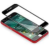 Verre Trempé iPhone 7,Coolreall® 3D Integralé Film Protection écran en Verre Trempe pour iPhone 7,0.33mm Ultra HD Film Protecteur Vitre,Dureté 9H,4.7 Pouces(Noir)