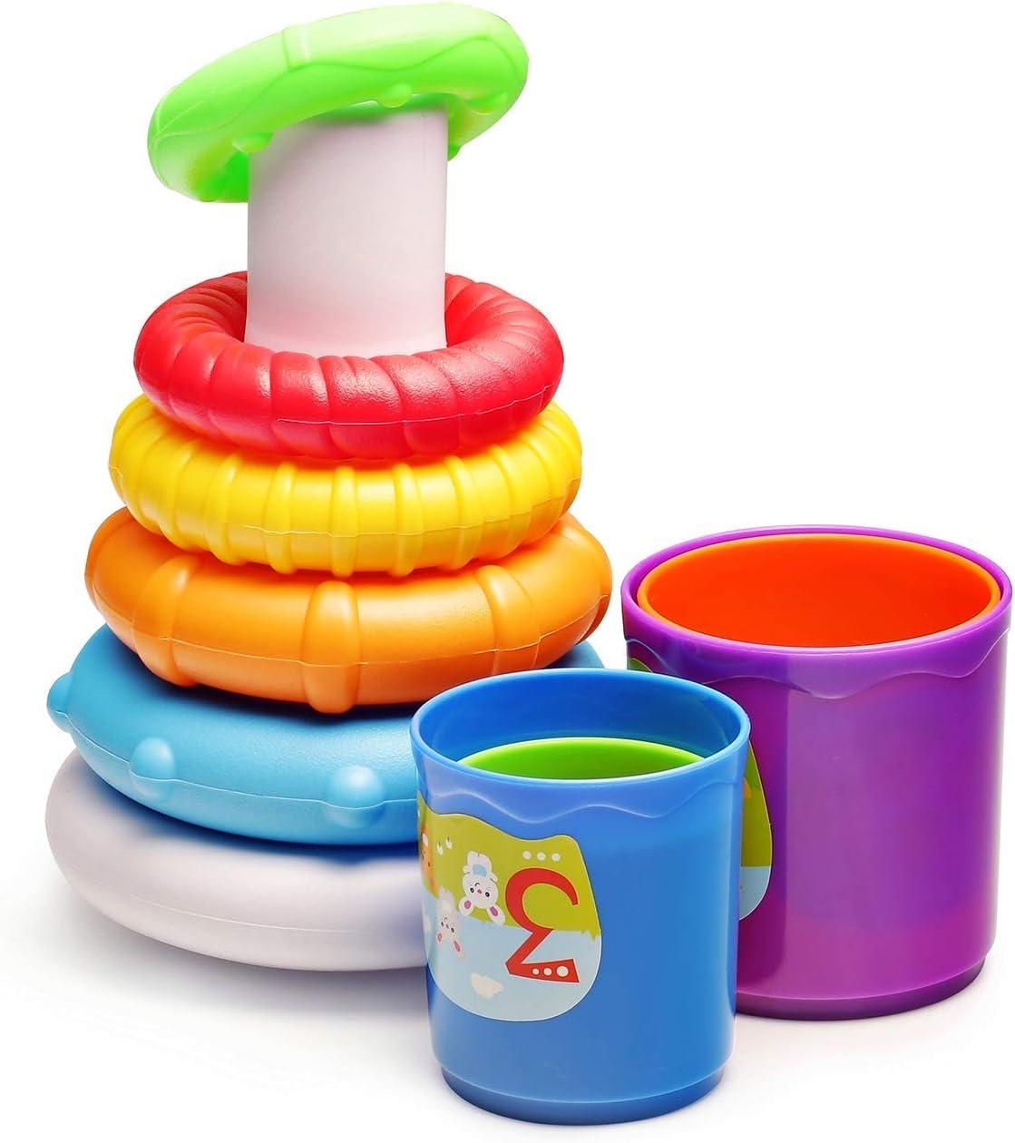 Adultos Unisex Multicolor Creaciones Llopis PING/ÜINO Hinchable BALANCIN 70CM 4COL 8422802600462 Brazaletes y flotadores Multicolor Talla /Única