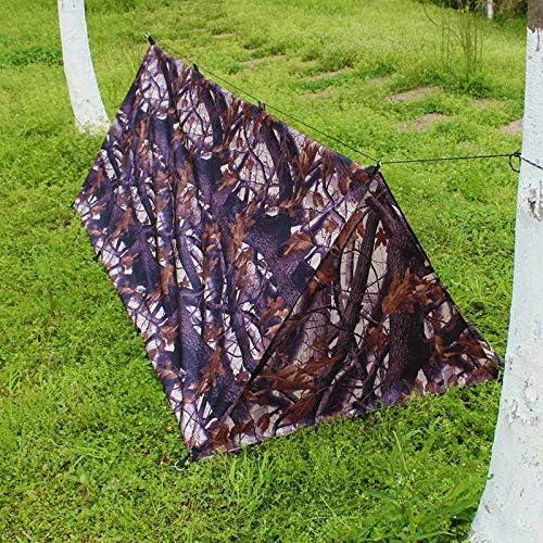 HDS Outdoor Camping Tent Portable Woodland Jungle Camouflage Single tent Jagen Vissen Strand Wandelen Tenten 220 * 100 * 76cm