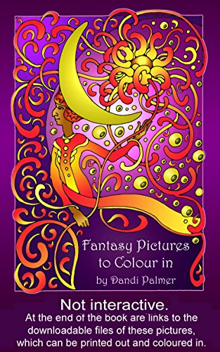 Fantasy Pictures To Colour In Coloring Books By Palmer Dandi