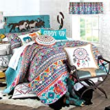 Giddy Up Quilted Bedding, Full/Queen