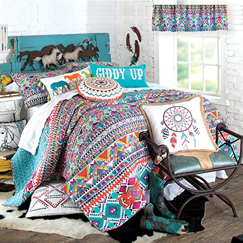Levtex Giddy Up Quilt, Full/Queen