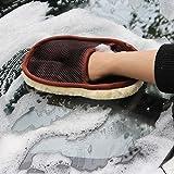 DeemoShop Car Styling Wool Soft Car Washing Gloves