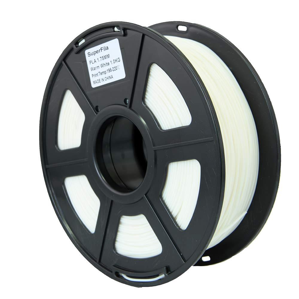 Amazon.com: Filamento para impresora 3D Superfila PLA para ...
