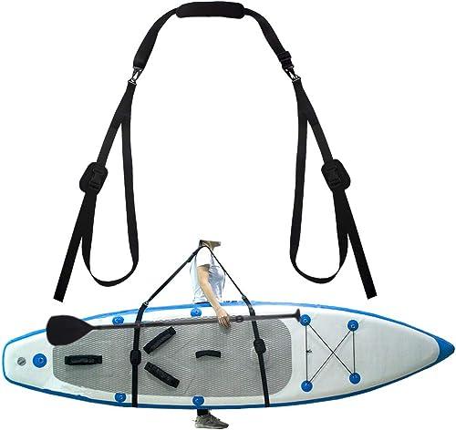 Adjustable SUP Shoulder Carrier Strap (Canoe/Kayak Storage Sling) Adjustable [ZipSeven] Picture