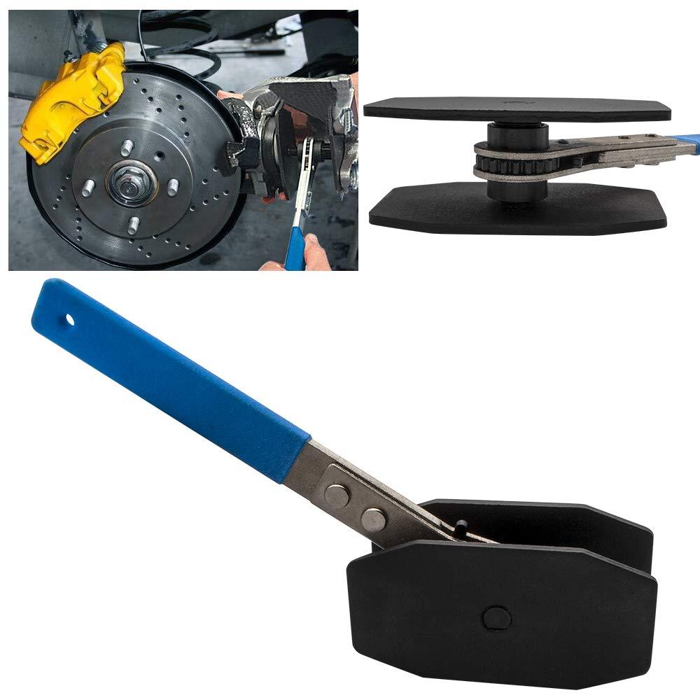 Safego Outil d/étalement de piston de piston d/étrier de frein de voiture de presse d/étrier /à cliquet outil d/écarteur de piston d/étrier de frein /à rochet portable