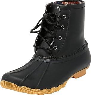713347117b2 Cambridge Select Women s Non-Slip Lace-Up Rain Duck Ankle Boot