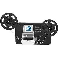 "8mm & Super 8 Reels to Digital MovieMaker Film Sanner Converter, Pro Film Digitizer Machine with 2.4"" LCD, Convert 5…"