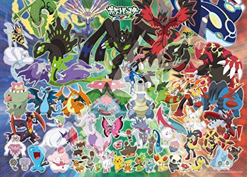 300-piece-jigsaw-puzzle-Pokemon-XY-Z-A-New-Pokemon-Battle-of-dawn-large-piece-38x53cm