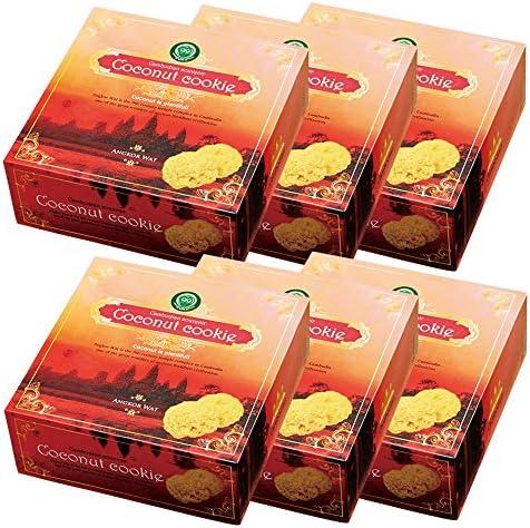 アンコールワット ココナッツ クッキー 6箱セット 【カンボジア お土産 輸入食品 スイーツ】