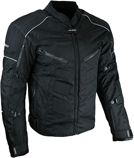 winter textil motorrad jacke motorradjacke schwarz