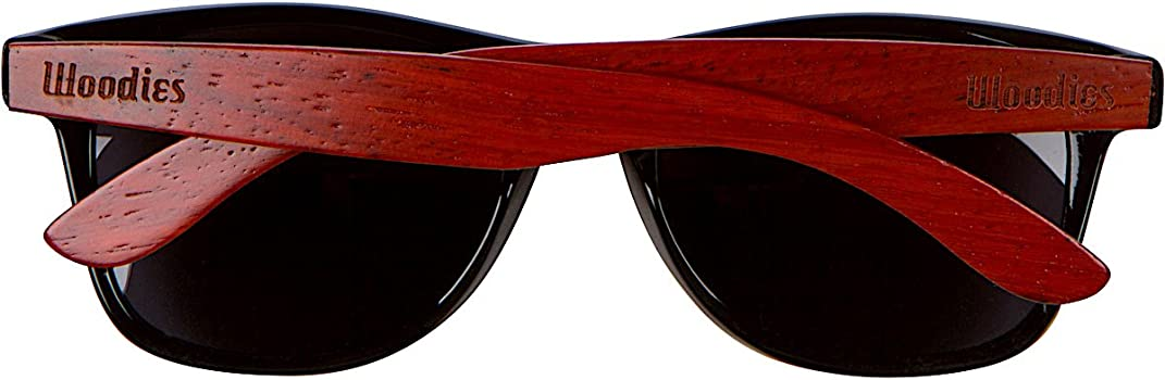 Rose Wood Sunglasses with Polarized Lenses