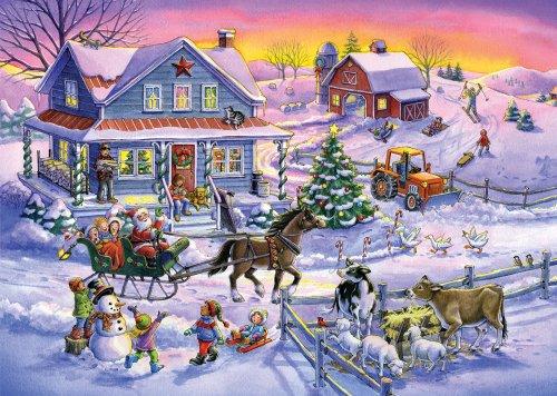 Countryside Christmas Christmas Cards - Set of 15