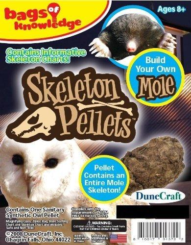 Dunecraft Skeleton Pellets Mole Science Kit by (Mole Skeleton)